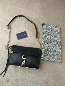 Rebecca Minkoff 'Mini Mac' Crossbody Bag in Black