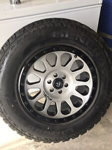 Fuel wheels and tires for 2015-2017 Canyon/Colorado