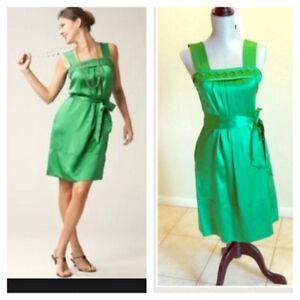 Banana Republic Emerald Green Dress