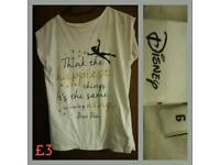 Peter Pan Quote Top Size 6
