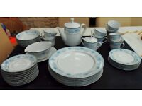 37 Piece Noritake Blue Hill Contemporary Fine China Set - 2482 Can deliver