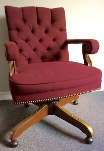 Vintage Style Tufted Office Chair -$95obo