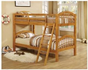 Brand New Solid Wood Twin Bunk Beds (2) $400 EACH