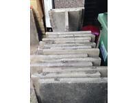 75x60 cm paving slabs x 34