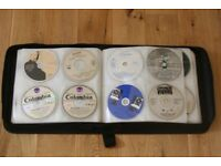 Music CD's in Storage Wallet