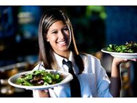 Waitress wanted full time