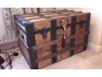antique trunk chest toy box