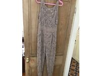 New with tags size 14 stunning miss selfridge jewelled jumpsuit