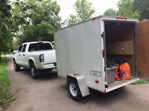 2010 Haulmark 6x8 enclosed trailer with ownership
