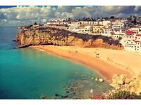 2 x return flights Manchester to Faro (school holidays) 15th -22nd August - £325