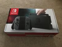 32GB Nintendo switch in box - £250!