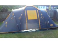 4 man dome tent very good condition