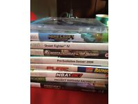 Xbox 360 with 9 games 120gb