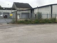 4 industrial/commercial units to let from £110 PW
