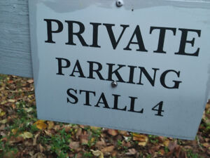 Parking Near Downtown 75 a month