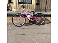 Girls apollo mounting bike