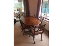 FREE Extendable Dining Table & 6 Chairs