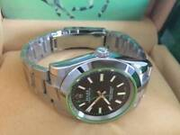 New Swiss Men's Rolex Milgauss Perpetual Automatic Watch