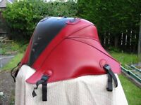 Red and Black Baglux Tank Cover fits 2010 Honda VFR 1200 FA