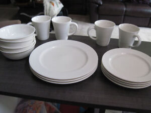 "Dishware, ""Brilliant"" ""Luzerne"" 15 pc,+ 1, Brand New;REDUCED $35"