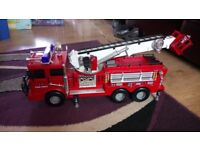 Large fire engine with light and sound