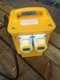Worksafe 110 transformer