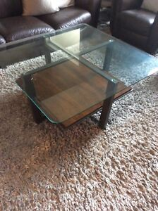 Coffee Table plus Two End Tables