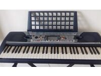 Yamaha PSR-280 Electronic Keyboard and Stand in North Walsham