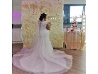 Luxury flower wall hire