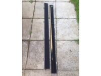 Two piece snooker cue