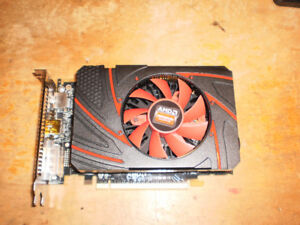 AMD radeon R7 200 series video card