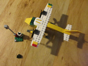 LEGO City Seaplane Airplane Plane 3178 Building Block Toy Retire
