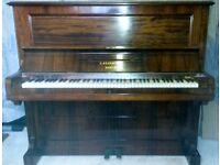 Bechstein upright piano needs a good home - lovely tone - any offer considered.