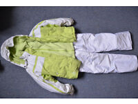 Children's Ski Coat (Age 10-12), Reversible Fleece (Age 10-12) and Trousers (Age 13)