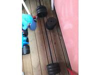 Dumbbell and barbell