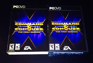 COMMAND & CONQUER: THE FIRST DECADE PC DVD COMBO SET
