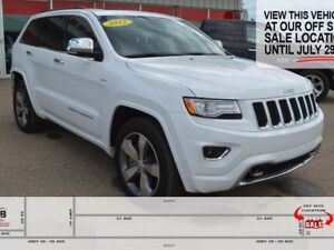 2015 Jeep Grand Cherokee OVERLAND, UNDER 20,000KMS, GREAT CONDIT