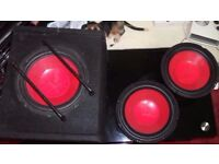 SPL car subwoofers and speakers