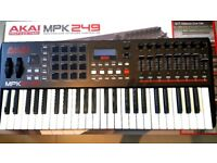 Akai MPK249 MIDI Keyboard Controller - SUPERB CONDITION! 49 Keys MPK 249 MPC Pads