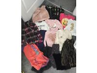 Girls clothes bundle river island,next,Zara h&m job lot/boot sale
