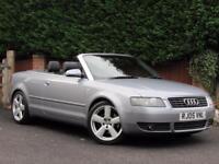 2005 Audi A4 3.0 S Line CONVERTIBLE, AUTOMATIC, PETROL,