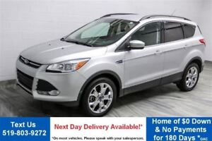 2015 Ford Escape SE 4WD LEATHER! HEATED SEATS! $68/WK, 5.49% ZER