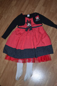 robe chic minie mouse