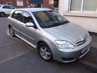 2005 TOYOTA COROLLA 1.4 VVT-I COLOUR COLLECTION NONE PREVIOUS OWNER