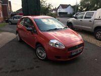 Fiat Punto Grande Orange