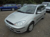 Ford Focus 1.8 TDDI CL DIESEL ESTATE (silver) 2003