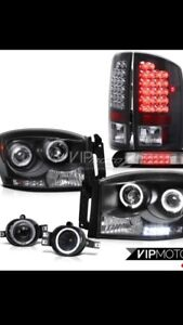 2007 Dodge Ram Spyder Light kit
