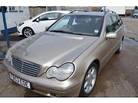 2003 Mercedes Benz C270 CDI ELEGANCE SE AUTO IN GOOD CONDITION MOT UNTIL JULY 2018