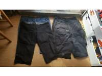 5 pairs of ladies size 18 shorts