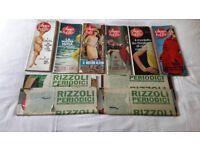 Ladies Italian magazines